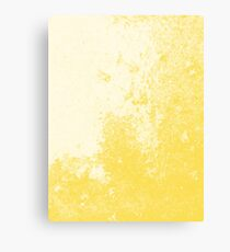 Earth Sweat Design (Buttercup Color) Canvas Print