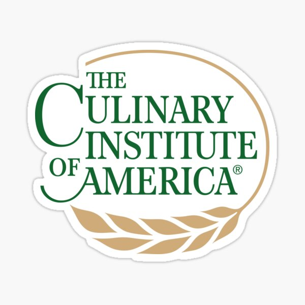 CIA (The Culinary Institute of America) Sticker