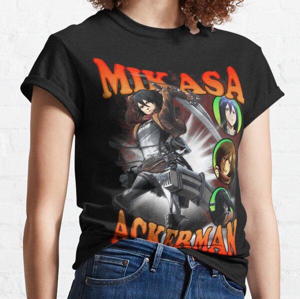 ATTACK ON TITAN SHINGEKI NO KYOJIN MIKASA ACKERMAN BOOTLEG VOL. 1 Classic T-Shirt