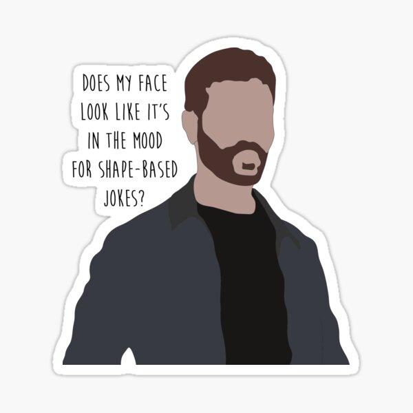 Roy Kent jokes Sticker