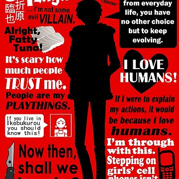 Orihara Izaya Quotes by esperjester