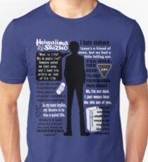 Heiwajima Shizuo Quotes T-Shirt