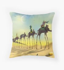 On The Move SQ Throw Pillow