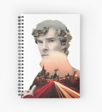 I need to get to know London again, breathe it in, every quiver of its beating heart. Spiral Notebook