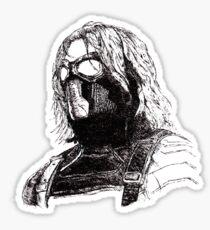 Winter Soldier art 2 Sticker