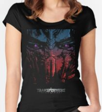 Optimus the last Knight Women's Fitted Scoop T-Shirt