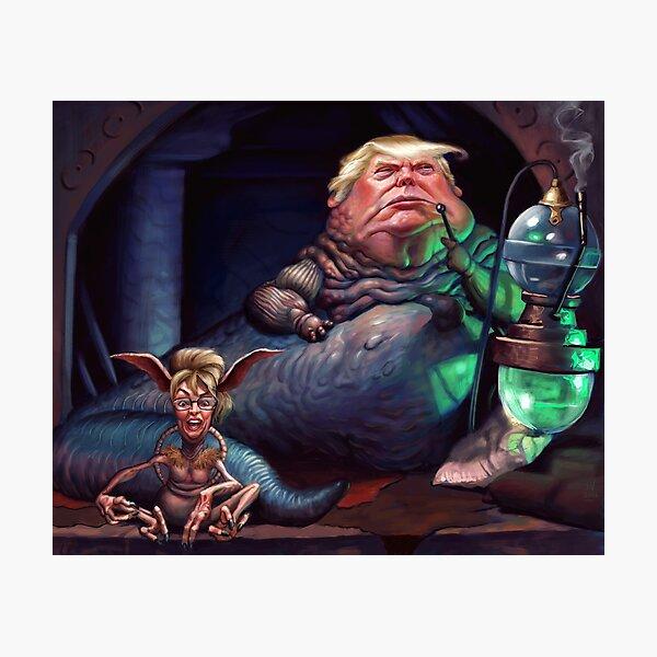 Jabba the Trump Photographic Print