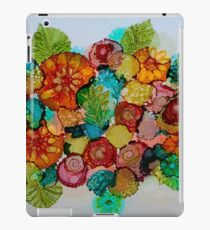 Colorful Unique Original Floral Design! iPad Case/Skin