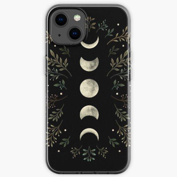 Moonlit Garden-Olive Green iPhone Soft Case