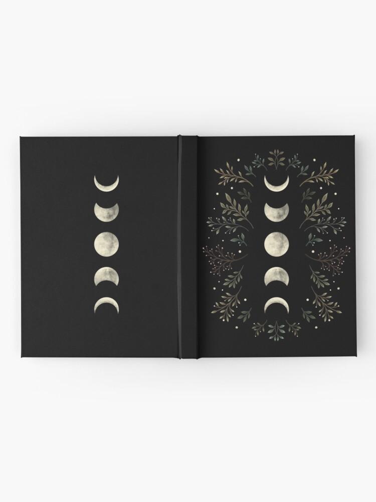 Alternate view of Moonlit Garden-Olive Green Hardcover Journal