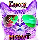 CAT WEARING SUNGLASSES CHECK MEOWT CATS BEACH TROPICAL GRUMPY OCEAN MEOW KITTEN KITTY SUN GLASSES by MyHandmadeSigns