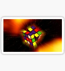 Galaxy Rubik's Cube  Sticker