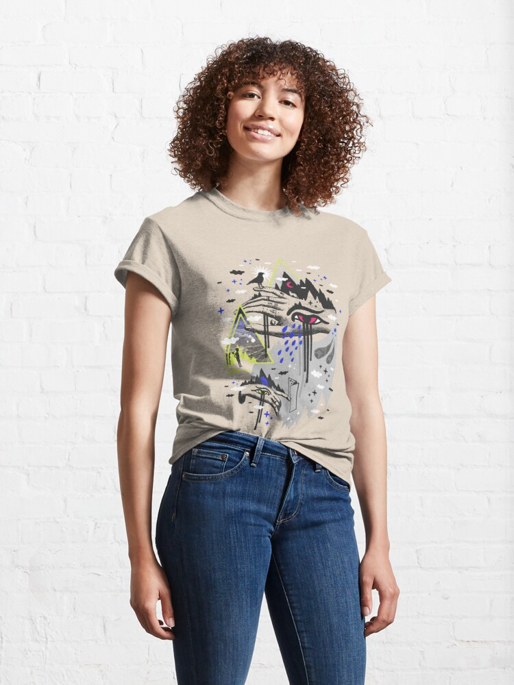Alternate view of Dimensional Awareness Classic T-Shirt