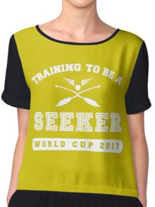 Training to be a Seeker Chiffon Top