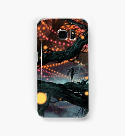 Flat Tire In Oblivion Samsung Galaxy Case/Skin