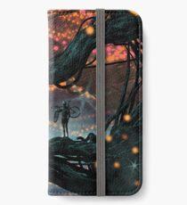 Flat Tire In Oblivion iPhone Wallet/Case/Skin