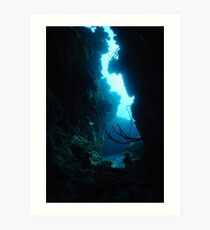 Welcome To The Underwater World Art Print