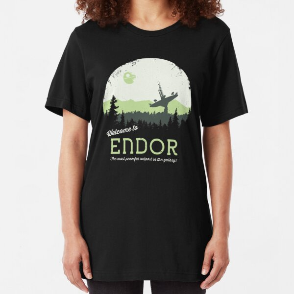 Welcome To Endor Slim Fit T-Shirt