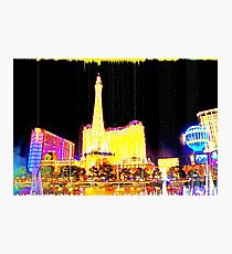 VEGAS NIGHTLIFE Photographic Print