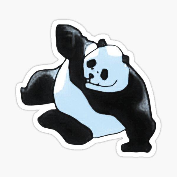 Jujutsu Kaisen Panda Parkour Sticker
