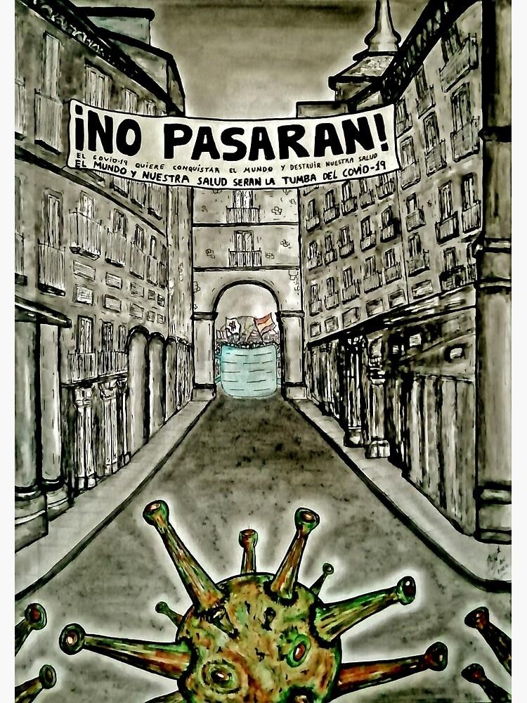 """TXUS BIXQUERT: """"Guerra Covid-19 - No Pasarán"""" de EZERT-SHOP"""