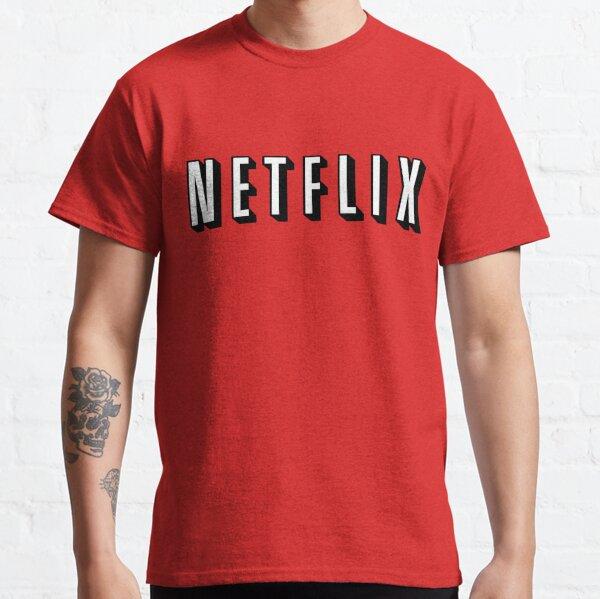 Chemise Netflix Halloween T-shirt classique