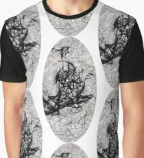 Monochrome Oblong Graphic T-Shirt