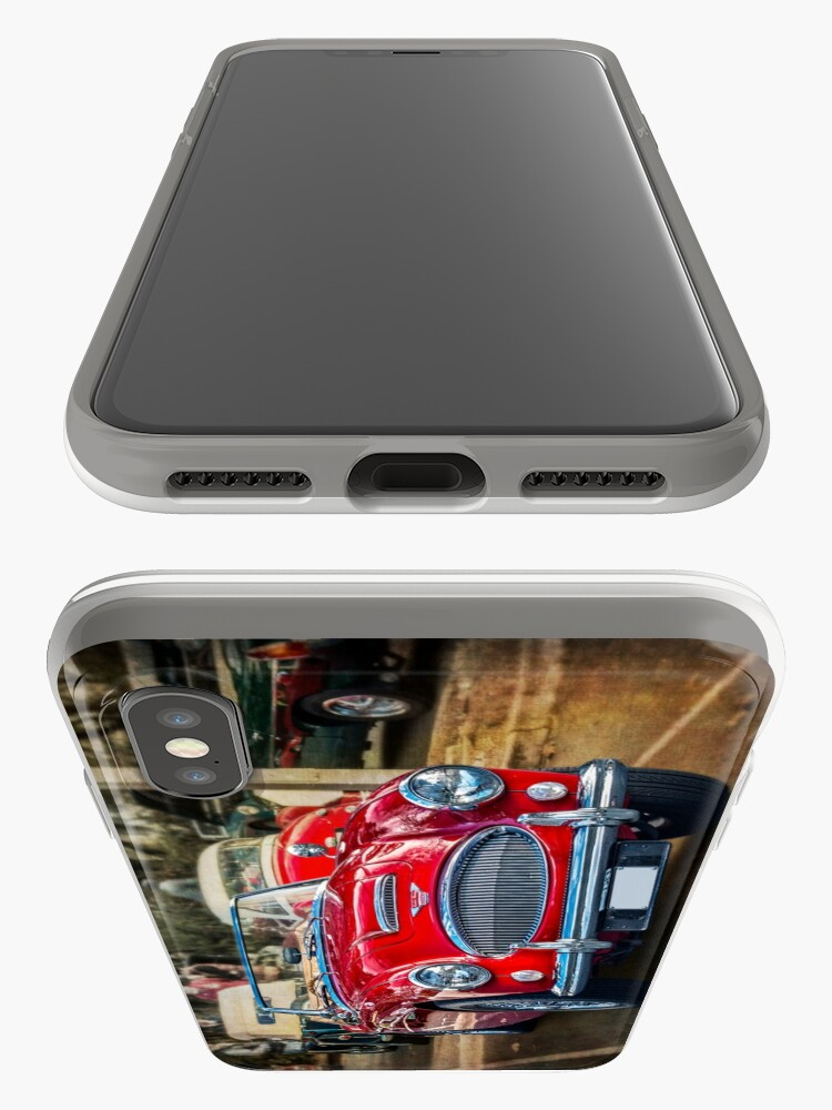 Alternate view of Red Austin Healey 3000 MkIII iPhone Cases & Covers