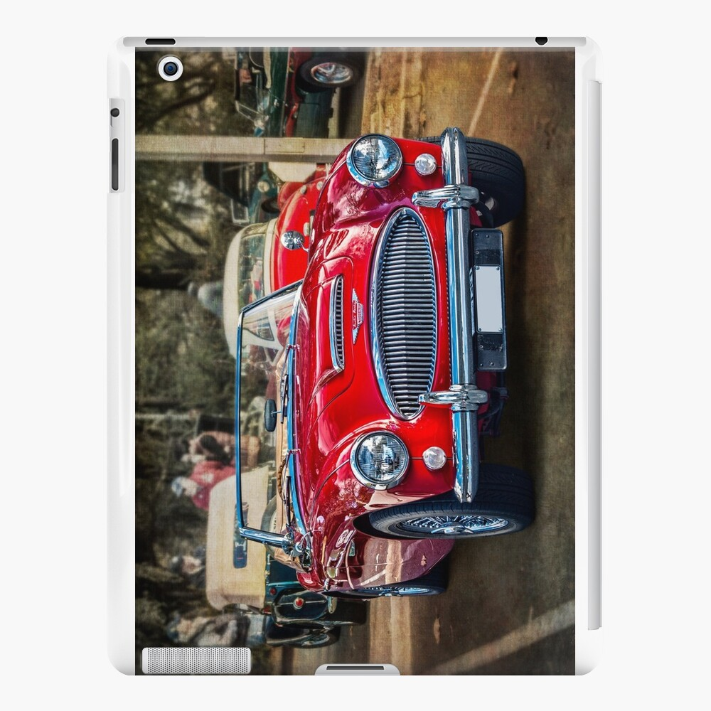 Red Austin Healey 3000 MkIII iPad Cases & Skins