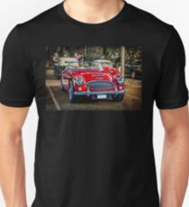 Red Austin Healey 3000 MkIII Unisex T-Shirt