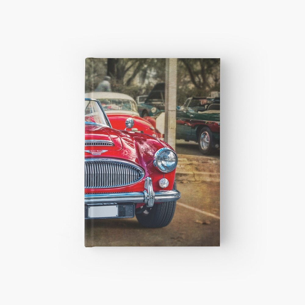 Red Austin Healey 3000 MkIII Hardcover Journal