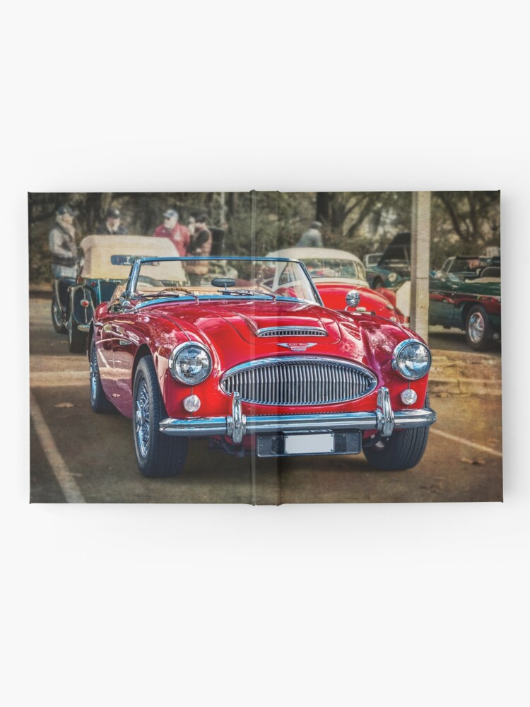 Alternate view of Red Austin Healey 3000 MkIII Hardcover Journal