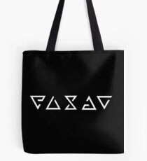 Witcher Signs - Enlarged (White) Tote Bag