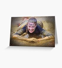Tough Mudder Greeting Card