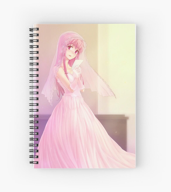 Cuadernos de espiral «Vestido de novia de Yuno Gasai» de AlisaChan ...