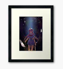 Yuno Gasai Reflection Framed Print