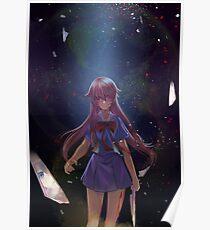 Yuno Gasai Reflection Poster