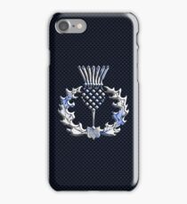 Chrome like Scottish Thistle iPhone Case/Skin