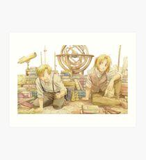 Edward and Alphonse Elric Art Print