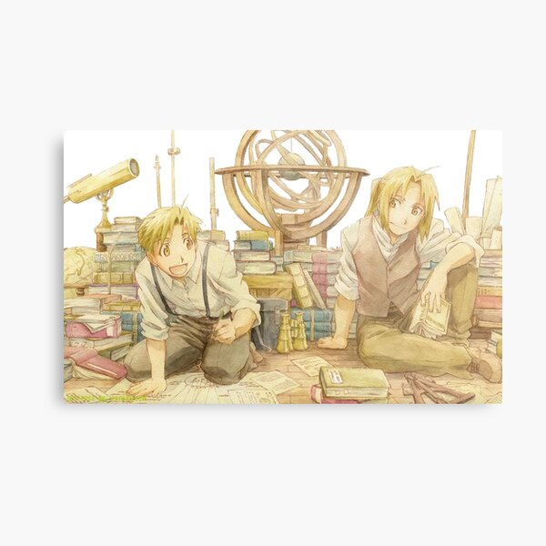 Edward and Alphonse Elric Metal Print
