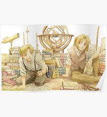 Edward and Alphonse Elric Poster