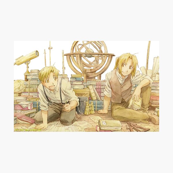 Edward and Alphonse Elric Photographic Print