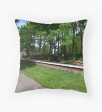 Stamford Bridge - Station Platform Throw Pillow