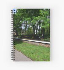Stamford Bridge - Station Platform Spiral Notebook