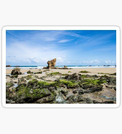 Rocks at the beach Sticker