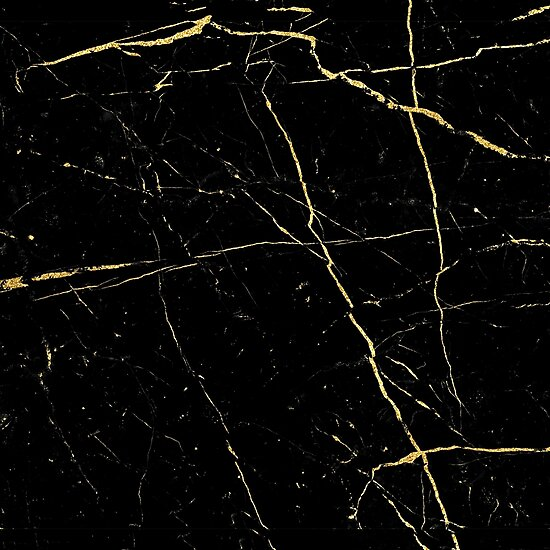 quotblack and gold marble texturequot photographic prints by