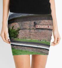 Stamford Bridge - Train Station Building Mini Skirt