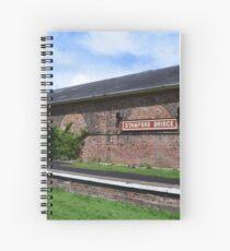 Stamford Bridge - Train Station Building Spiral Notebook