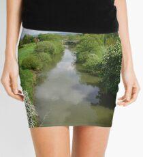 Stamford Bridge - River Derwent Mini Skirt
