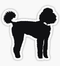 Bentley The Poodle Sticker